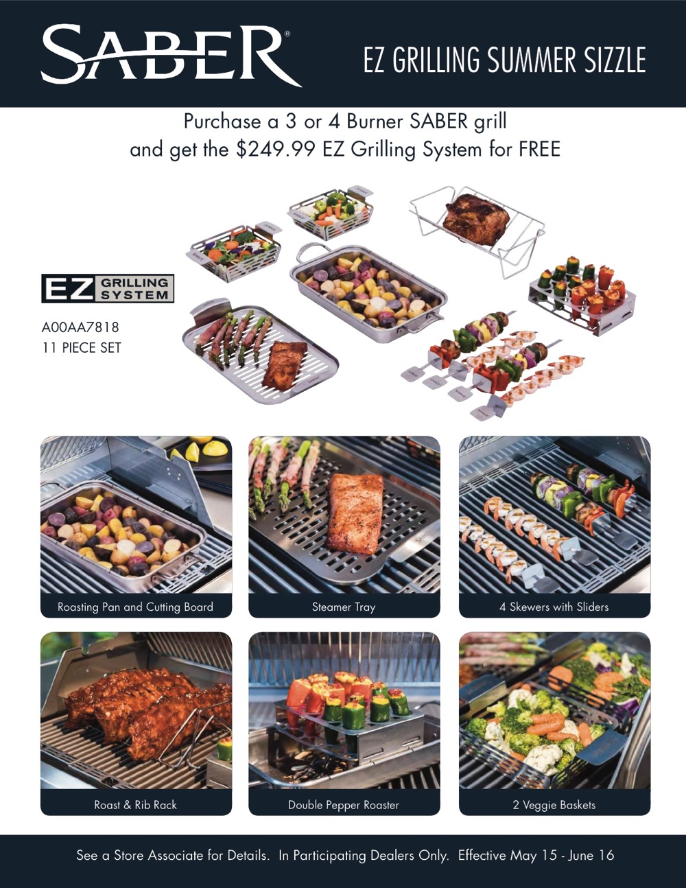 Woodstove Fireplace and Patio Shop - Saber Grill Promo