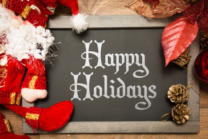 Happy Holidays from Woodstove Fireplace & Patio Shop