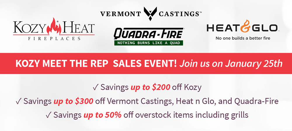 Woodstove, Fireplace & Patio Shop Event in Concord, Lincoln, MA