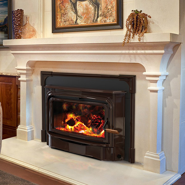 The Woodstove Fireplace & Patio Shop - Wood burning fireplace insert