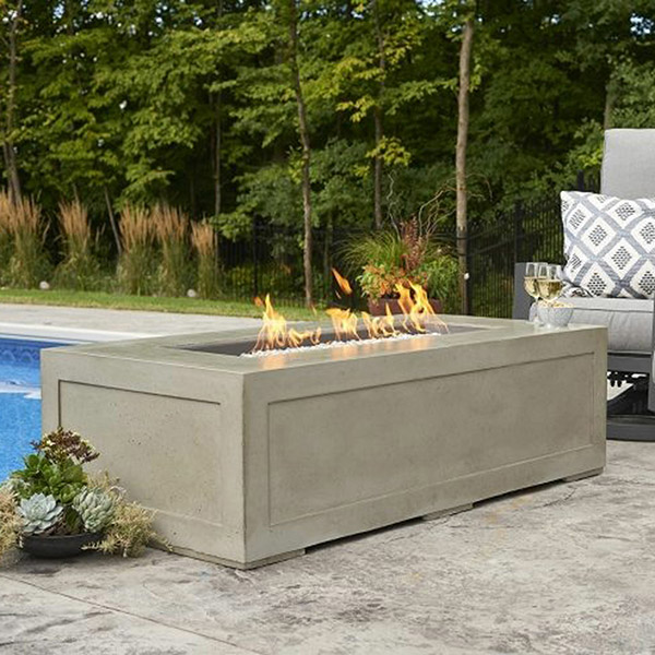 Cove Linear Gas Fire Pit Table<br />