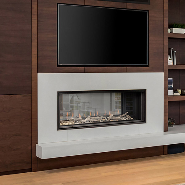 D4815ST - Linear Gas Fireplace