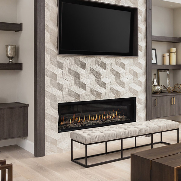D6315 - Linear Gas Fireplace