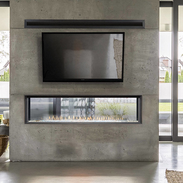 DL6315ST - Linear Gas Fireplace