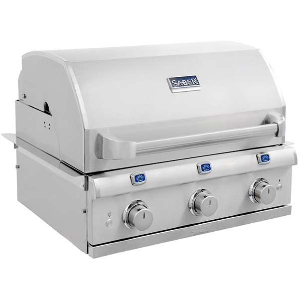 Elite Series 3-Burner Built-In Gas Grill R50SB1517