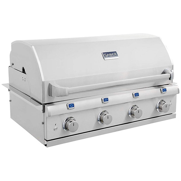 Elite Series 4-Burner Built-In Gas Grill R67SB1017