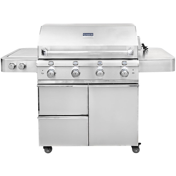 Elite Series 4-Burner Gas Grill R67SC0917