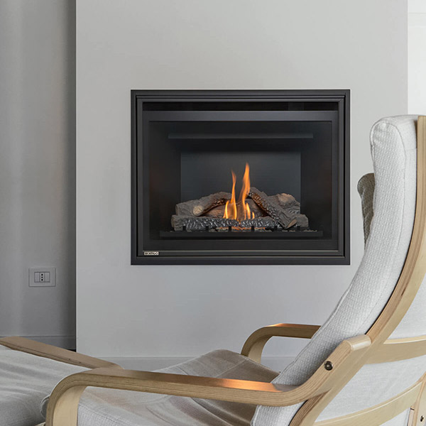 H34DF - Traditional Gas Fireplace