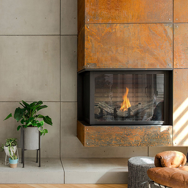 H38DFCL/CR - Multi-Sided Fireplace