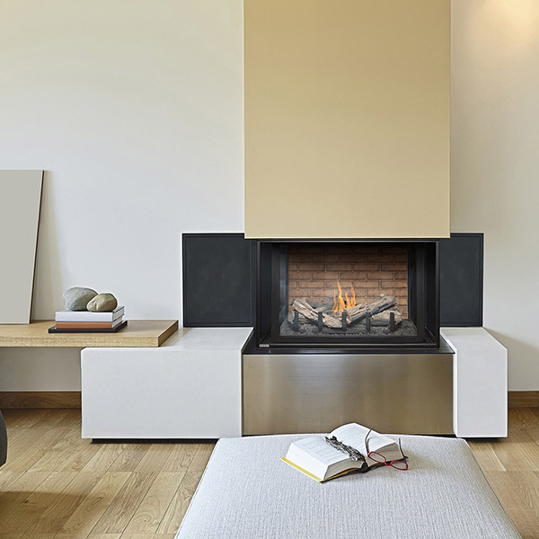 H38DFPRC - Multi-Sided Fireplace