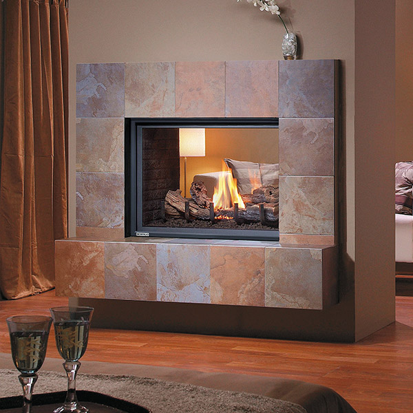 H38DFST - See Through Gas Fireplace
