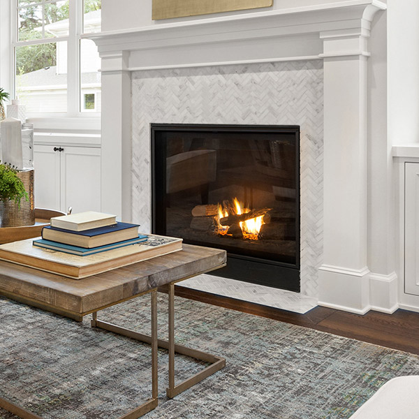 H42DF - Traditional Gas Fireplace