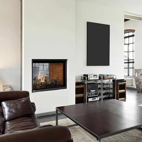 H42DFST - See Through Gas Fireplace
