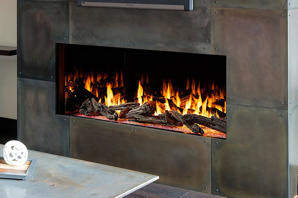 Foundation Single-Sided Gas Fireplaces