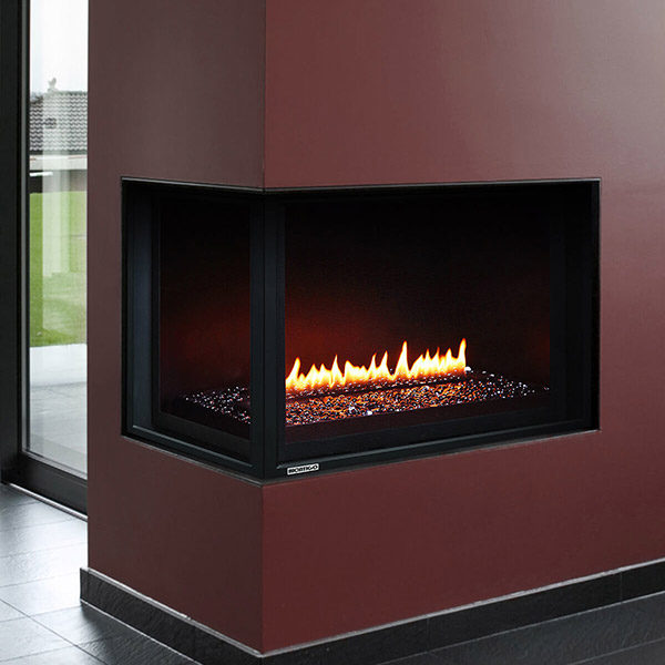 HL38CL/CR - Multi-Sided Fireplace