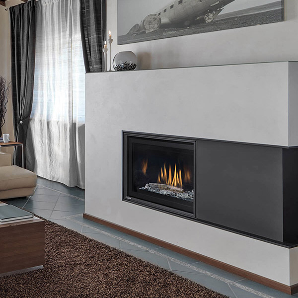 Linear Gas Fireplace >> Hlb34df 2 Deluxe Linear Gas Fireplace