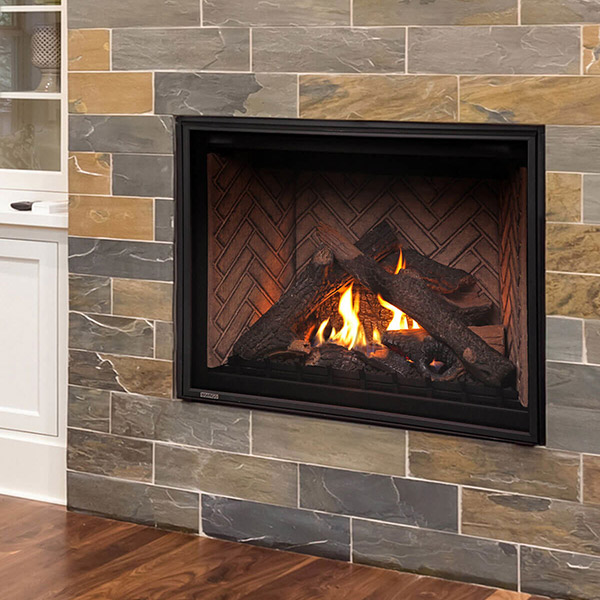 HW42DF - Traditional Gas Fireplace