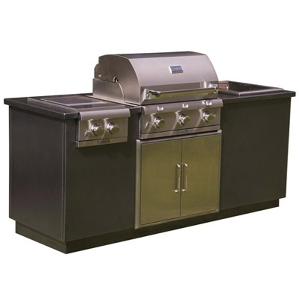 I Series EZ Outdoor Kitchen - Silver I50LK2215