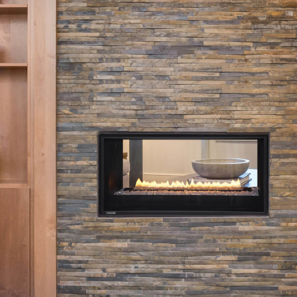 L38ST - See Through Gas Fireplace