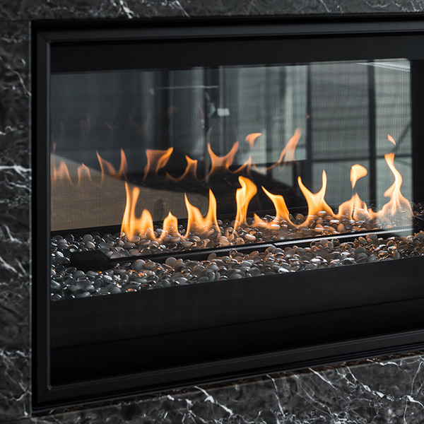 L42ST - See Through Gas Fireplace
