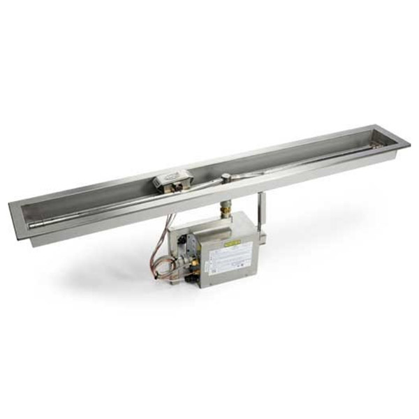 Linear Trough Fire Pit Insert – Electronic Ignition EI