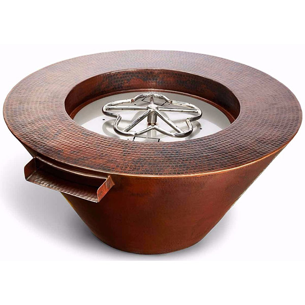 Mesa Copper Fire and Water Bowl