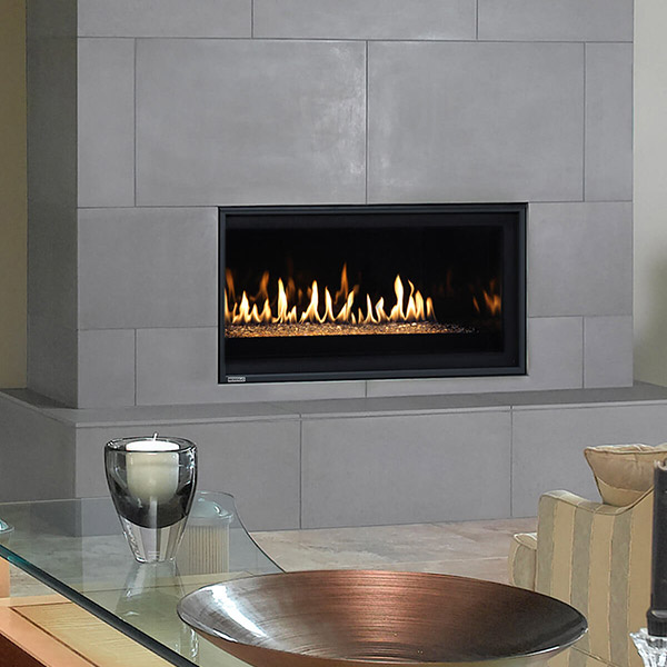 P38DF - Linear Gas Fireplace