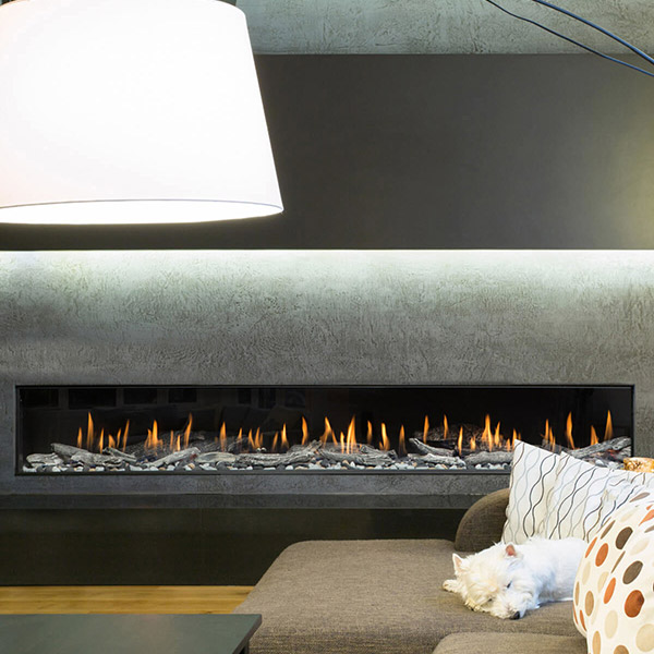 PC8 - Frameless Linear Fireplace
