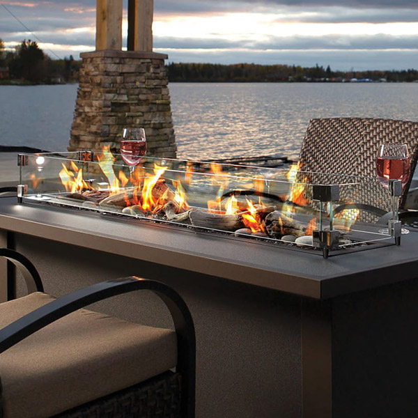 Plaza Gas Fire Pit