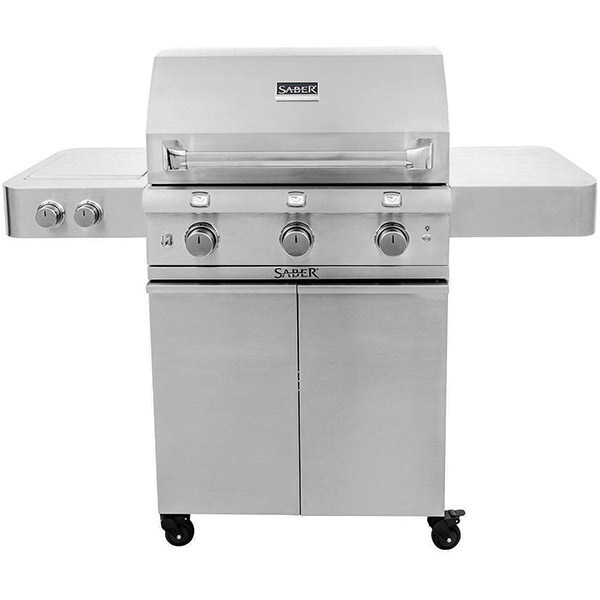 Stainless Steel 3-Burner Gas Grill R50SC0017