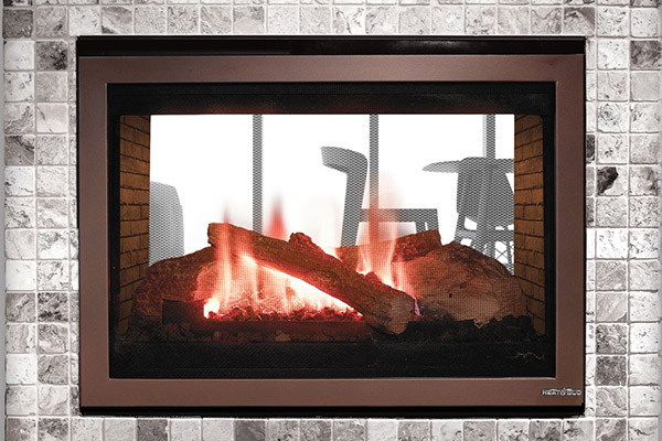 See-Through 32 Gas Fireplace