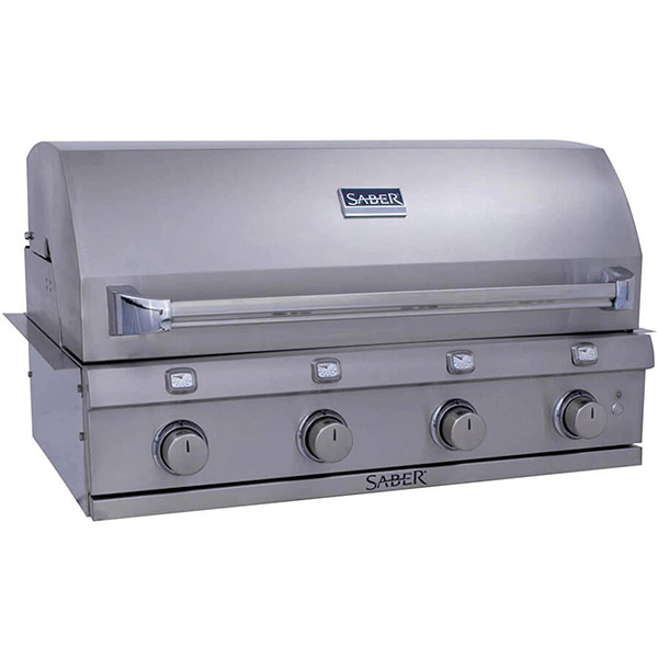 Stainless Steel 4-Burner Built-In Gas Grill R67SB0317