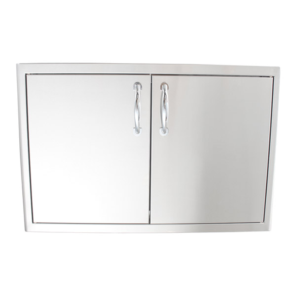 Blaze Stainless Steel Enclosed Dry Storage Cabinet with Shelf