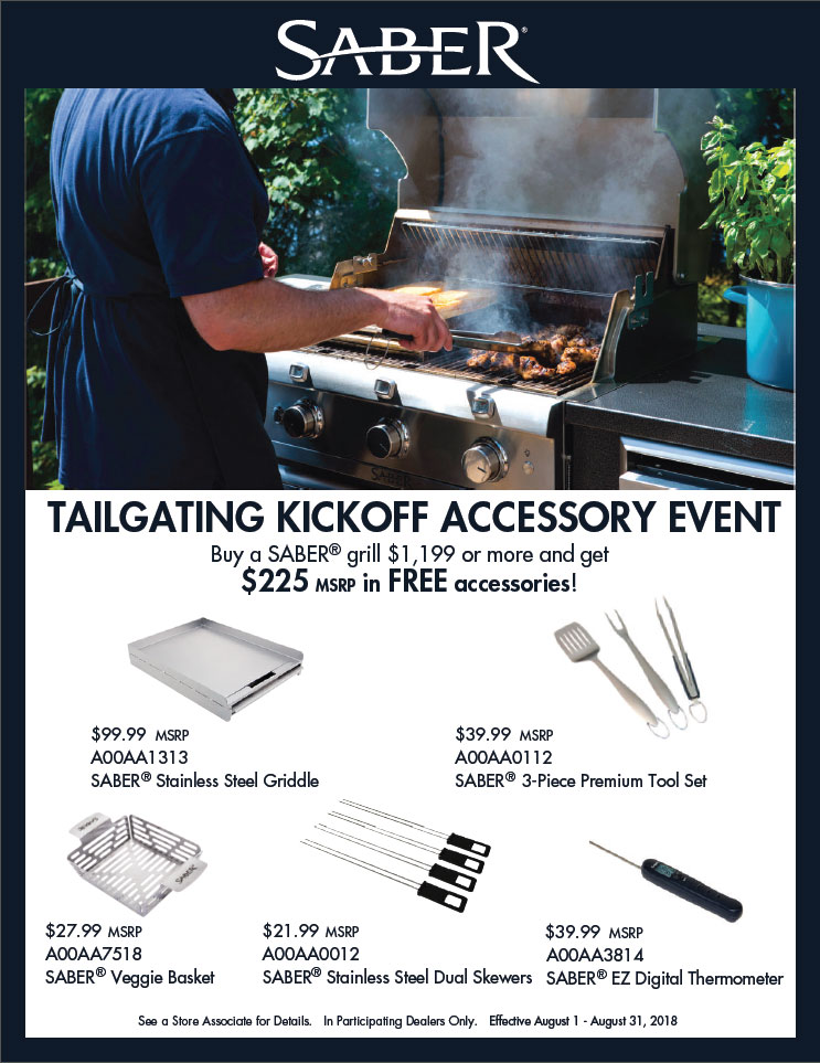 The Woodstove Fireplace & Patio Shop - Tailgating Accessory Kickoff Event