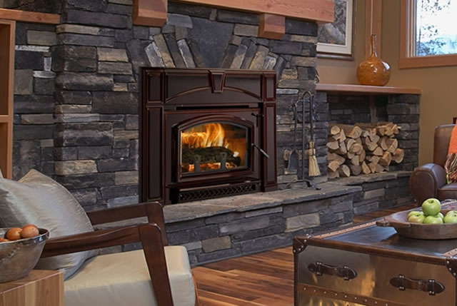 Wood Burning Fireplace Inserts Nothing Burns Like A